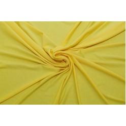 Трикотаж вискоза с эластаном, желтый