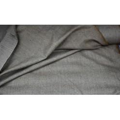 Твид 80% шерсть / 20% ПА, серо-коричневатый
