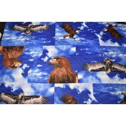 """Хлопок синий, """"Eagle"""""""
