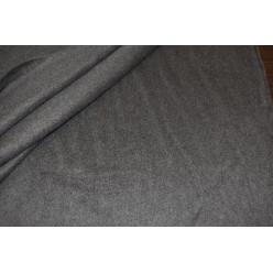 Ткань пальтовая, серая с ворсиком