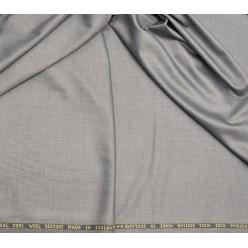 Плательно-костюмный кашемир Super 360'S, стальной серый, Англия