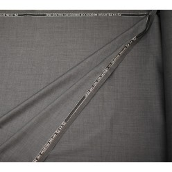 Плательно-костюмный кашемир Super 200'S, темно-серый, Англия