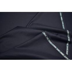 Плательно-костюмный кашемир Super 250'S, темно-синий, Италия