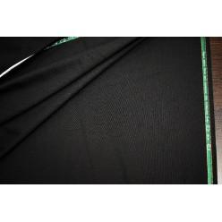 Плательно-костюмный кашемир Super 180'S, чёрный, Италия