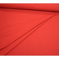 Плательно-костюмная шерсть, красно-брусничная