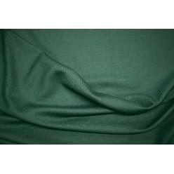 Полушерсть костюмная изумрудно-зелёного цвета