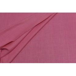 Костюмный шёлк твидовой фактуры, розовый